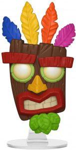 Funko POP de Aku Aku - Los mejores FUNKO POP del Crash Bandicoot - Los mejores FUNKO POP de personajes de videojuegos