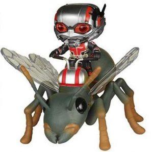 Funko POP de Antman con hormiga - Los mejores FUNKO POP de Ant-man - Los mejores FUNKO POP de Ant man - Funko POP de Marvel Comics - Los mejores FUNKO POP de los Vengadores