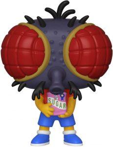 Funko POP de Bart Mosca - Los mejores FUNKO POP de los Simpsons Halloween - Los mejores FUNKO POP de series de dibujos animados