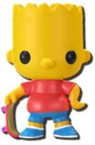 Funko POP de Bart Simpson - Los mejores FUNKO POP de los Simpsons - Los mejores FUNKO POP de series de dibujos animados