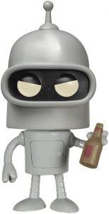 Funko POP de Bender - Los mejores FUNKO POP de Futurama - Los mejores FUNKO POP de series de dibujos animados