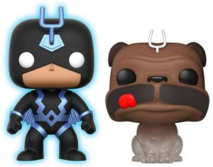 Funko POP de Black Bolt y Lockjaw teletransporte - Los mejores FUNKO POP de los Inhumanos - Funko POP de Marvel Comics