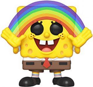 Funko POP de Bob Esponja con arcoiris - Los mejores FUNKO POP de Bob Esponja - Spongebob - Los mejores FUNKO POP de series de dibujos animados