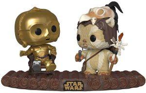 Funko POP de C3PO en el trono Ewok - Los mejores FUNKO POP de los Ewok - Los mejores FUNKO POP de personajes de Star Wars