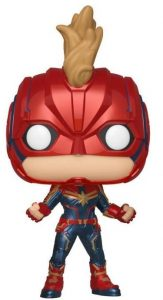 Funko POP de Capitana Marvel con casco - Los mejores FUNKO POP de Capitana Marvel - Funko POP de Marvel Comics - Los mejores FUNKO POP de los Vengadores