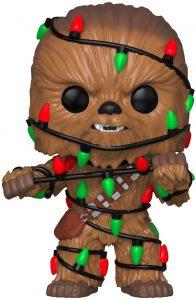 Funko POP de Chewbacca de navidad - Los mejores FUNKO POP de Chewbacca - Los mejores FUNKO POP de personajes de Star Wars