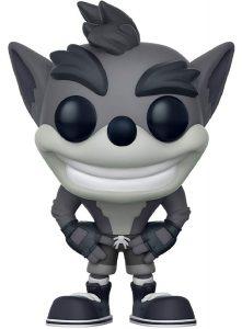 Funko POP de Crash Bandicoot blanco y negro - Los mejores FUNKO POP del Crash Bandicoot - Los mejores FUNKO POP de personajes de videojuegos