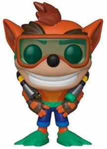 Funko POP de Crash Bandicoot buceo - Los mejores FUNKO POP del Crash Bandicoot - Los mejores FUNKO POP de personajes de videojuegos