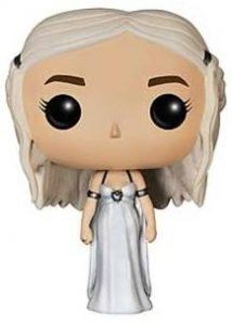 Funko POP de Daenerys Targaryen blanco - Los mejores FUNKO POP de Juego de Tronos de HBO - Los mejores FUNKO POP de Game of Thrones - Funko POP de series de televisión