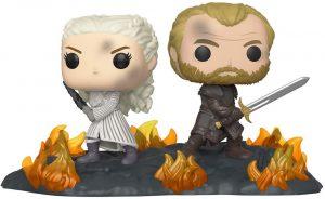 Funko POP de Daenerys Targaryen con Jorah - Los mejores FUNKO POP de Juego de Tronos de HBO - Los mejores FUNKO POP de Game of Thrones - Funko POP de series de televisión