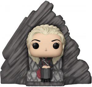 Funko POP de Daenerys Targaryen en el Trono de Rocadragón - Los mejores FUNKO POP de Juego de Tronos de HBO - Los mejores FUNKO POP de Game of Thrones - Funko POP de series de televisión