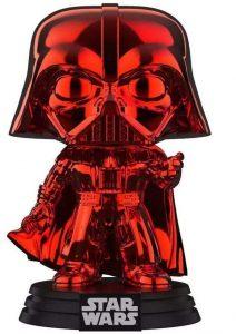 Funko POP de Darth Vader cromado rojo - Los mejores FUNKO POP de Darth Vader - Los mejores FUNKO POP de personajes de Star Wars
