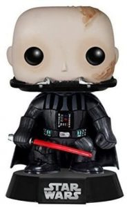 Funko POP de Darth Vader sin máscara - Los mejores FUNKO POP de Darth Vader - Los mejores FUNKO POP de personajes de Star Wars