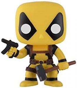 Funko POP de Deadpool amarillo - Los mejores FUNKO POP de Deadpool y Deapool 2 - Los mejores FUNKO POP de los X-Men - Funko POP de Marvel Comics - Los mejores FUNKO POP de los mutantes
