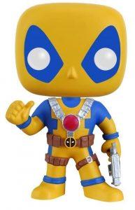 Funko POP de Deadpool amarillo y azul - Los mejores FUNKO POP de Deadpool y Deapool 2 - Los mejores FUNKO POP de los X-Men - Funko POP de Marvel Comics - Los mejores FUNKO POP de los mutantes