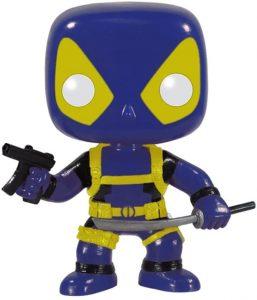 Funko POP de Deadpool azul 2 - Los mejores FUNKO POP de Deadpool y Deapool 2 - Los mejores FUNKO POP de los X-Men - Funko POP de Marvel Comics - Los mejores FUNKO POP de los mutantes