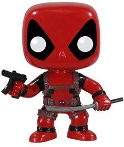 Funko POP de Deadpool con katana y ametralladora - Los mejores FUNKO POP de Deadpool y Deapool 2 - Los mejores FUNKO POP de los X-Men - Funko POP de Marvel Comics