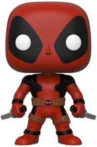 Funko POP de Deadpool de 25 centímetros con dos espadas - Los mejores FUNKO POP de Deadpool y Deapool 2 - Los mejores FUNKO POP de los X-Men - Funko POP de Marvel Comics