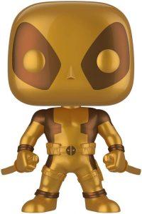 Funko POP de Deadpool dorado de 25 centímetros - Los mejores FUNKO POP de Deadpool y Deapool 2 - Los mejores FUNKO POP de los X-Men - Funko POP de Marvel Comics - Los mejores FUNKO POP de los mutantes