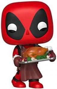 Funko POP de Deadpool en acción de gracias - Los mejores FUNKO POP de Deadpool y Deapool 2 - Los mejores FUNKO POP de los X-Men - Funko POP de Marvel Comics - Los mejores FUNKO POP de los mutantes