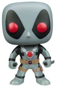 Funko POP de Deadpool gris - Los mejores FUNKO POP de Deadpool y Deapool 2 - Los mejores FUNKO POP de los X-Men - Funko POP de Marvel Comics - Los mejores FUNKO POP de los mutantes