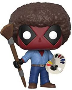 Funko POP de Deadpool pintor - Los mejores FUNKO POP de Deadpool y Deapool 2 - Los mejores FUNKO POP de los X-Men - Funko POP de Marvel Comics - Los mejores FUNKO POP de los mutantes