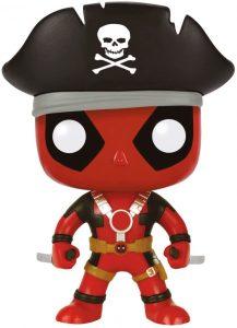 Funko POP de Deadpool pirata - Los mejores FUNKO POP de Deadpool y Deapool 2 - Los mejores FUNKO POP de los X-Men - Funko POP de Marvel Comics - Los mejores FUNKO POP de los mutantes