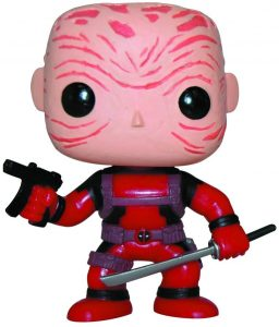 Funko POP de Deadpool sin máscara - Los mejores FUNKO POP de Deadpool y Deapool 2 - Los mejores FUNKO POP de los X-Men - Funko POP de Marvel Comics - Los mejores FUNKO POP de los mutantes