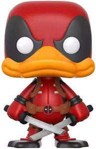 Funko POP de Deadpool the Duck - Los mejores FUNKO POP de Deadpool y Deapool 2 - Los mejores FUNKO POP de los X-Men - Funko POP de Marvel Comics - Los mejores FUNKO POP de los mutantes