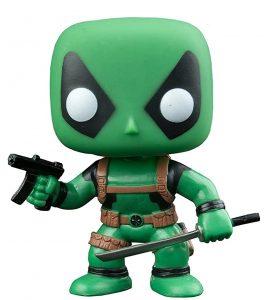 Funko POP de Deadpool verde - Los mejores FUNKO POP de Deadpool y Deapool 2 - Los mejores FUNKO POP de los X-Men - Funko POP de Marvel Comics - Los mejores FUNKO POP de los mutantes