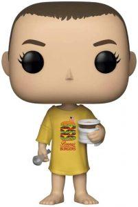 Funko POP de Eleven Burger camiseta - Los mejores FUNKO POP de Eleven - Los mejores FUNKO POP de Stranger Things - Funko POP de series de televisión
