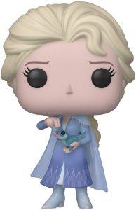 Funko POP de Elsa con salamandra - Los mejores FUNKO POP de Frozen y Frozen 2 - FUNKO POP de Disney