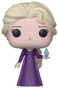 Funko POP de Elsa con traje morado - Los mejores FUNKO POP de Frozen y Frozen 2 - FUNKO POP de Disney