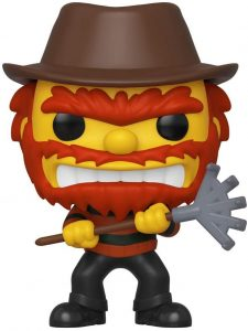 Funko POP de Evil Willie - Los mejores FUNKO POP de los Simpsons Halloween - Los mejores FUNKO POP de series de dibujos animados