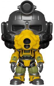 Funko POP de Excavator Armor - Los mejores FUNKO POP de Fallout - Los mejores FUNKO POP de personajes de videojuegos