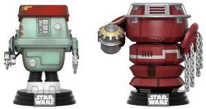 Funko POP de Fighting Droids - Los mejores FUNKO POP de Han Solo la película - Los mejores FUNKO POP de personajes de Star Wars