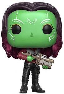 Funko POP de Gamora con pistola - Los mejores FUNKO POP de Gamora - Los mejores FUNKO POP de Guardianes de la Galaxia - Funko POP de Marvel de los Vengadores
