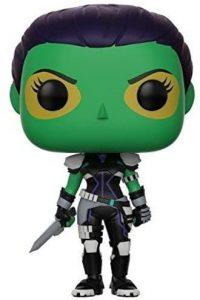 Funko POP de Gamora con puñal - Los mejores FUNKO POP de Gamora - Los mejores FUNKO POP de Guardianes de la Galaxia - Funko POP de Marvel de los Vengadores
