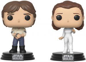 Funko POP de Han Solo y Leia - Los mejores FUNKO POP de Han Solo - Los mejores FUNKO POP de personajes de Star Wars