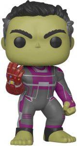 Funko POP de Hulk con el guantelete - Los mejores FUNKO POP de Hulk - Funko POP de Marvel Comics - Los mejores FUNKO POP de los Vengadores