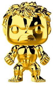 Funko POP de Hulk dorado - Los mejores FUNKO POP de Hulk - Funko POP de Marvel Comics - Los mejores FUNKO POP de los Vengadores