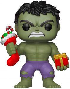 Funko POP de Hulk navidad - Los mejores FUNKO POP de Hulk - Funko POP de Marvel Comics - Los mejores FUNKO POP de los Vengadores
