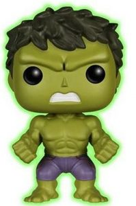 Funko POP de Hulk oscuridad - Los mejores FUNKO POP de Hulk - Funko POP de Marvel Comics - Los mejores FUNKO POP de los Vengadores