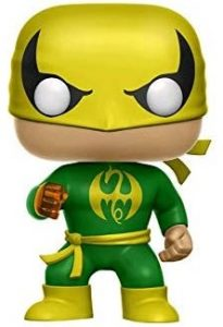Funko POP de Iron Fist - Los mejores FUNKO POP de The Defenders - Funko POP de Marvel Comics