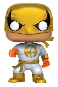 Funko POP de Iron Fist dorado - Los mejores FUNKO POP de The Defenders - Funko POP de Marvel Comics