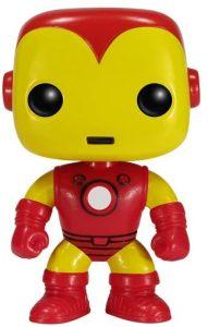 Funko POP de Iron Man clásico - Los mejores FUNKO POP de Iron man - Funko POP de Marvel Comics - Los mejores FUNKO POP de los Vengadores