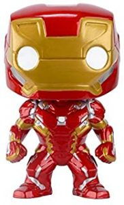 Funko POP de Iron Man en Civil War - Los mejores FUNKO POP de Iron man - Funko POP de Marvel Comics - Los mejores FUNKO POP de los Vengadores