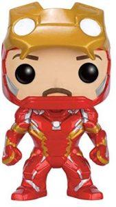 Funko POP de Iron Man máscara abierta - Los mejores FUNKO POP de Iron man - Funko POP de Marvel Comics - Los mejores FUNKO POP de los Vengadores