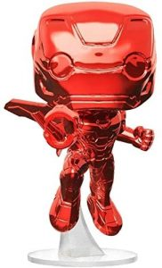 Funko POP de Iron Man rojo cromado - Los mejores FUNKO POP de Iron man - Funko POP de Marvel Comics - Los mejores FUNKO POP de los Vengadores