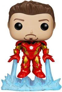 Funko POP de Iron Man sin máscara - Los mejores FUNKO POP de Iron man - Funko POP de Marvel Comics - Los mejores FUNKO POP de los Vengadores